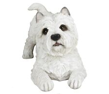 "West Highland White Terrier Dog - Collectible Statue Life Size 14""L New"