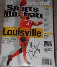 Louisville Cardinals Basketball Peyton Siva Signed Sports Illustrated 2012