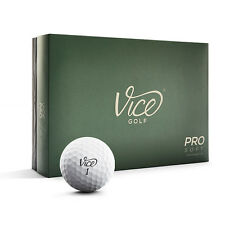 12 Golfbälle Weiß - Vice Pro Soft -  Extra Soft Distanz Golfball Hoher Spin TOP