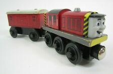 Salty Engine + Baggage Car Learning Curve Thomas Wooden Railway Train