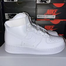 Nike Air Force 1 High '07 White Men's Size 315121-115 Leather All White Size 8.5