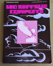 Led Zeppelin Complete Music Song Book Intermediate Guitar Classic Rock