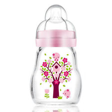 MAM Baby Newborn Glass Bottle 170ml 1 PACK
