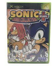 XBOX Sonic The Hedgehog Mega Collection Plus Sega Video Game 2004 New Sealed