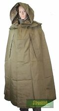 CZECH ARMY PONCHO RAIN CAPE IN OLIVE GREEN