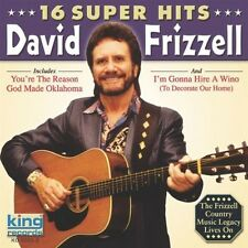 David Frizzell - 16 Super Hits [New CD]