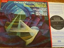 SXL 6945 Prokofiev Symphony No. 2 etc. / Weller / LPO