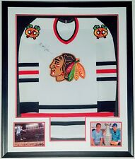 EDDIE VEDDER AUTOGRAPHED JERSEY BAS BECKETT COA AUTHETNICATED FRAMED & 2 PHOTO