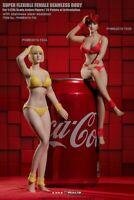 TBLeague 1/12 T03B Suntan Flexible Body With Head Female Phicen Action Figure *