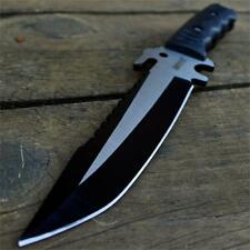 """12"""" M-TECH TACTICAL Hunting Survival FULL TANG FIXED BLADE KNIFE Army w/ SHEATH"""