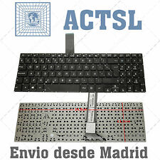 Keyboard Spanish for Asus Vivobook s551l Black Without Frame