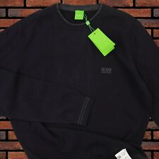 HUGO BOSS SWEATER GREEN LABEL MENS NEW SIZE 2XL GENUINE 100% GRAY