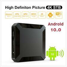 Android 10.0 WiFi 4K HD Smart TV Box Quad Core 2+16G Network Media Player HDMI