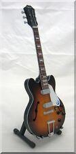 JOHN LENNON Casino Sunburst  Miniature Guitar  The Beatles