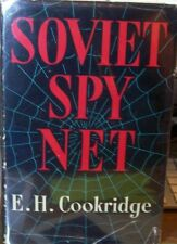 E.H. Cookridge, Soviet Spy Net, dust jacket