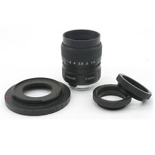 25mm f/1.4 CCTV Lens Mount+Macro Ring  Sony NEX E-mount A6500 A5100 A5000 A6000