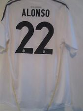 Real madrid alonso 2008-2009 home football shirt taille xxl/40868