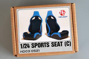 Hobby Design 1/24 Sports Seat #C