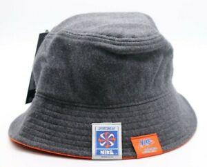 NIKE NSW SPORTSWEAR FRENCH TERRY BUCKET HAT - HEATHER CQ9221-032 - WOMEN XS/S