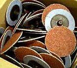 Roloc 75mm  Discs 36 Grits 20pcs -  BLUE COLOUR - Free Postage