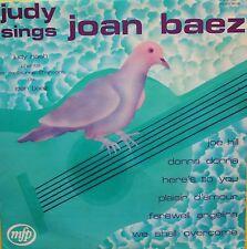 """Vinyle 33T Judy Nash  """"Judy sings Joan Baez"""""""