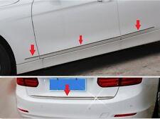 BMW 3 Series F30 320 328 2013 2014 Chrome Rear Trunk Trim+Side Door Molding 7PCS
