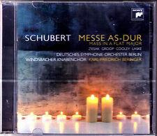 SCHUBERT Messe D.678 Windsbacher Knabenchor Ruth Ziesak Monica Groop BRINGER CD