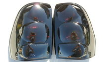 CUSTOM! 02-09 Trailblazer Smoked Painted Tail Lights Black Tinted non led
