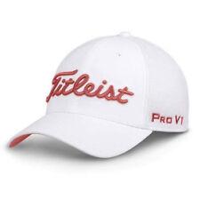 4e19d8f8a61 TITLEIST GOLF TOUR SPORTS MESH FITTED HAT CAP SIZE  L XL WHITE ISLAND