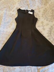 Charlotte Russe Black A-Line Dress XS NWT