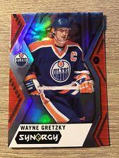 Upper Deck 2017-2018 Wayne Gretzky Synergy Red  #50 HOF. Edmonton Oilers.