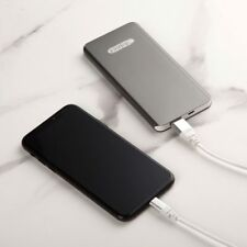 New Slim 5000mAh USB Micro Portable Aluminum Power Bank Charger For Mobile Phone