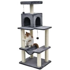 Cat Scratching Post Tree Gym Jump Pole Condo Furniture Tower Kitten Pet Play Toy