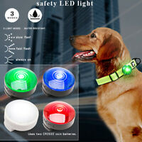 Truelove Dog LED Light Tag Pendant Night Safety Lamp for Collar Harness Leash