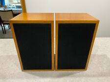 Linn Kan Speakers (Made in Scotland) Matched Pair in Walnut (LS3/5a Equivalent)