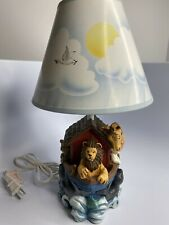 Noah's Ark Childrens Bedroom Nursery Lamp Vintage 1997 Fiji Graphics New Other