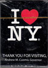 I LOVE NY. PLAYING CARDS SUPER BOWL XLVIII NY/NJ HOST COMMITTEE FEB. 2,2014 NEW