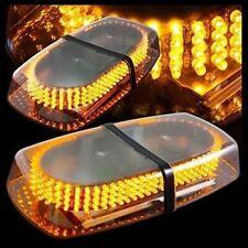 Amber 240 LED Light Mini Bar Roof Top Emergency Hazard Warning Flash Strobe