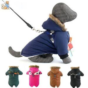 Winter Pet Dog Coat Warm French Bulldog Outfit Coat Pets Puppy Waterproof Jacket