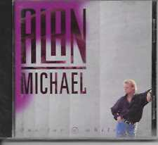 ALAN MICHAEL - One for a while CD Album 13TR Europop Synth-Pop 1992 (RED BULLET)