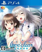 Love Clear Sony Playstation 4 PS4 Video Games From Japan F/S Tracking NEW