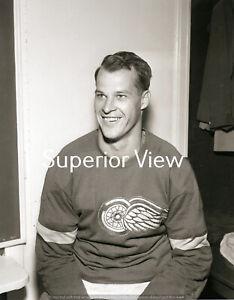 Detroit Red Wings Gordie Howe From Original Negative Gordie Howe Portrait GREAT