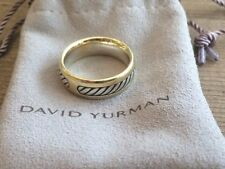 David Yurman 18K Gold Men's Cable Ring, Originally $950