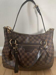 """Authentic GM Louis Vuitton """"Evora"""" Damier Ebene Retail $2650 Excellent Condition"""