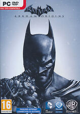 Batman Arkham Origins PC 2013 Brand New Sealed
