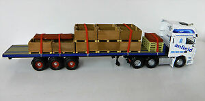 """1:50 Scale Handcrafted Timber Potato Crates, Code3, Diorama """"New"""""""