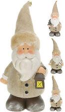 Contemporary Ceramic Father Christmas Santa Claus Figure Christmas Decoration