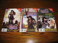 Topps - XENA - The Original Olympics 1 - 3 Complete Series!! Glossy VF  1998