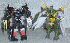 Transformers Beast Hunters Prime TRAILCUTTER HARDSHELL Cyberverse Lot of 2