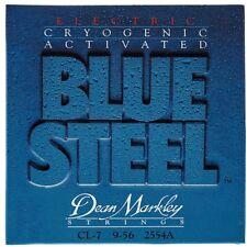 Dean Markley 2554A Blue Steel 7-String Electric Guitar Strings Custom Light 9-56